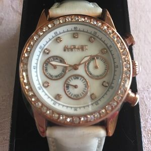 August Steiner rose gold watch